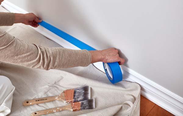 preparazione muro pittura vento di sabbia